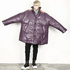 Remember Click - Oversized Padded Jacket