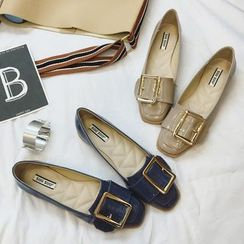 Super ME - Patent Buckled Loafers