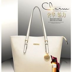 LineShow - Faux Leather Tote