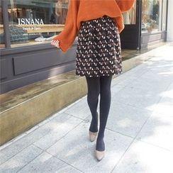Styleberry - Patterned A-Line Skirt