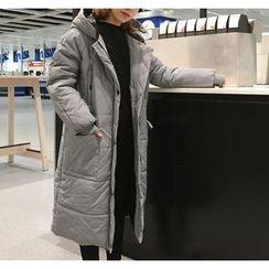 Eva Fashion - Padded Hooded Coat