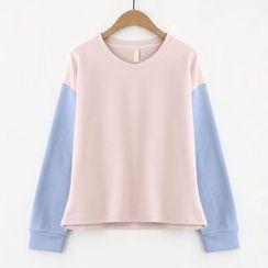 Meimei - 雙色套衫
