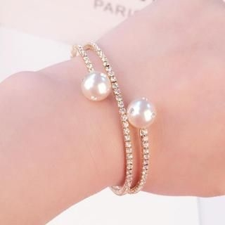 Supermary - Faux-Pearl Bangle