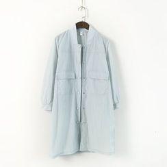 蘭芝 - 純色立領夾克