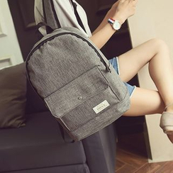 Seok - Plain Lightweight Backpack