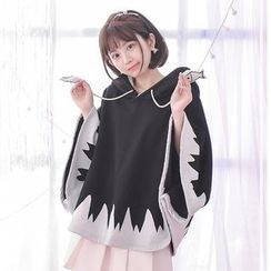 Moriville - Cartoon Hooded Cape