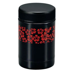 Hakoya - Hakoya Stainless Food Pot Sakurako Red