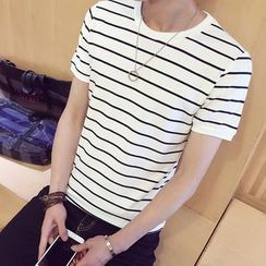 Alvicio - Striped T-Shirt