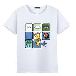 Champking - Short-Sleeve Printed T-Shirt