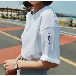 Moon City - Lettering T-Shirt