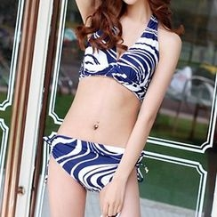 Zeta Swimwear - Set: Printed Bikini + Cover-Up