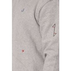 Ohkkage - Round-Neck Fleece-Lined T-Shirt
