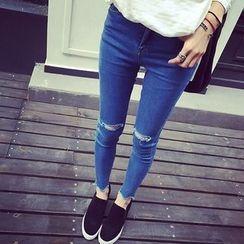 KASA - Ripped Skinny Jeans