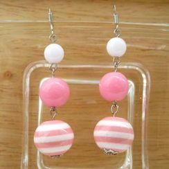 Fit-to-Kill - Pink sailing Earrings