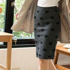 Tokyo Fashion - Polka Dot Pencil Skirt
