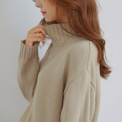 JUSTONE - Mock-Turtleneck Sweater