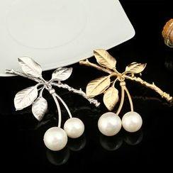 Glitglow - 珠飾樹枝胸針