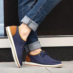 MARTUCCI - Canvas Deck Shoes