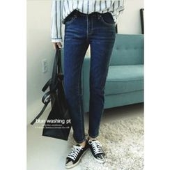 REDOPIN - Washed Skinny Jeans