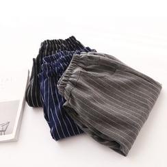布丁坊 - 条纹哈伦裤