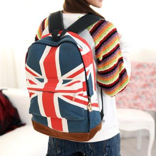59 Seconds - Union Jack Print Backpack