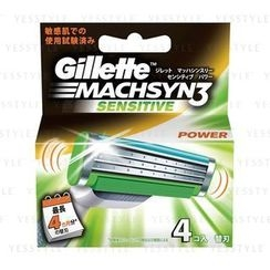 Gillette - Machsyn 3 Blade (Sensitive) (Power) (Refill)