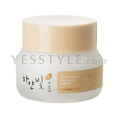 The Face Shop - Pure Bright Makgeolli Cream