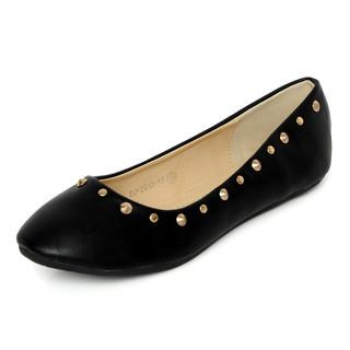 YesStyle Footwear - Studded Flats