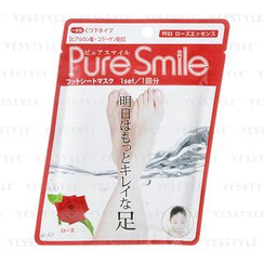 Sun Smile - Pure Smile Pack Sheet Pack (Foot Sheet Pack) (Rose)