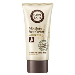 HAPPY BATH - Natural 24 Moisture Foot Cream 60ml
