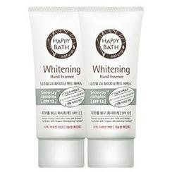 HAPPY BATH - Set of 2: Natural 24 Whitening Hand Essence 60ml