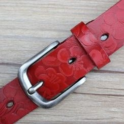 Coco Rush - Floral Genuine Leather Belt