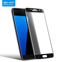 SIKAI - Curved Tempered Glass Protective Film - Samsung Galaxy S7 edge