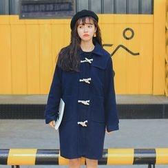 Ashlee - Long Woolen Coat