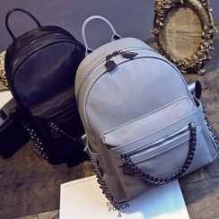 Coxchamp - Faux Leather Backpack