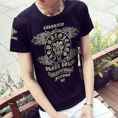 Telvi - Print Short-Sleeve T-Shirt