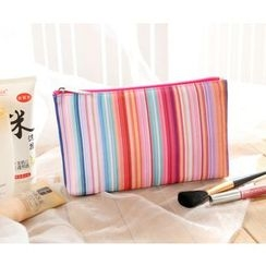 Aoba - Striped Makeup Pouch