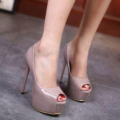 Monde - 厚底高跟高跟鞋