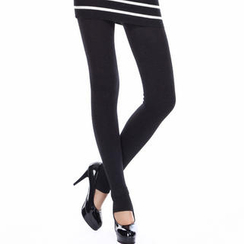 Ando Store - Fleece-Lined Stirrup Leggings