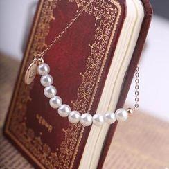 Leo Diamond - Leo Diamond Rosy Love Freshwater Pearl Bracelet