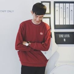 Mr. Cai - Embroidery Pullover