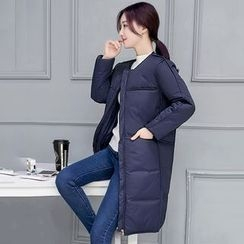 Rosehedge - Hooded Long Padded Coat