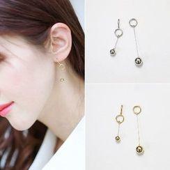 Utsukushi - Non-Matching Earrings