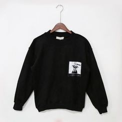 Mr. Cai - Applique Pullover