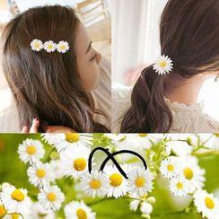 MISS SUN - Daisy Hair Tie / Hair Pin / Hair Clip