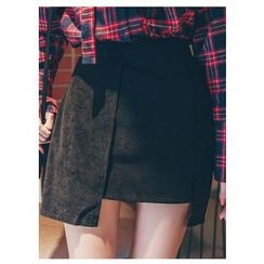 Chlo.D.Manon - Asymmetric-Hem Mini Skirt