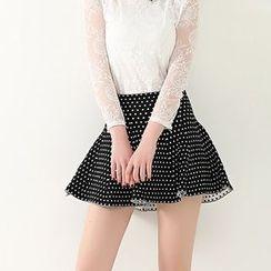 anzoveve - A-Line Knit Skirt
