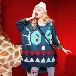 ELF SACK - Printed Sweater