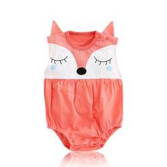 JIMIJIMI - Baby Fox Cartoon Bodysuit