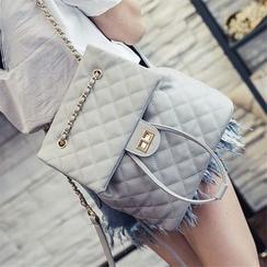 Nautilus Bags - 絎縫鏈條帶背包